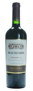 Errazuriz Carmenere Max Reserva 2011 750ml - Case of 12